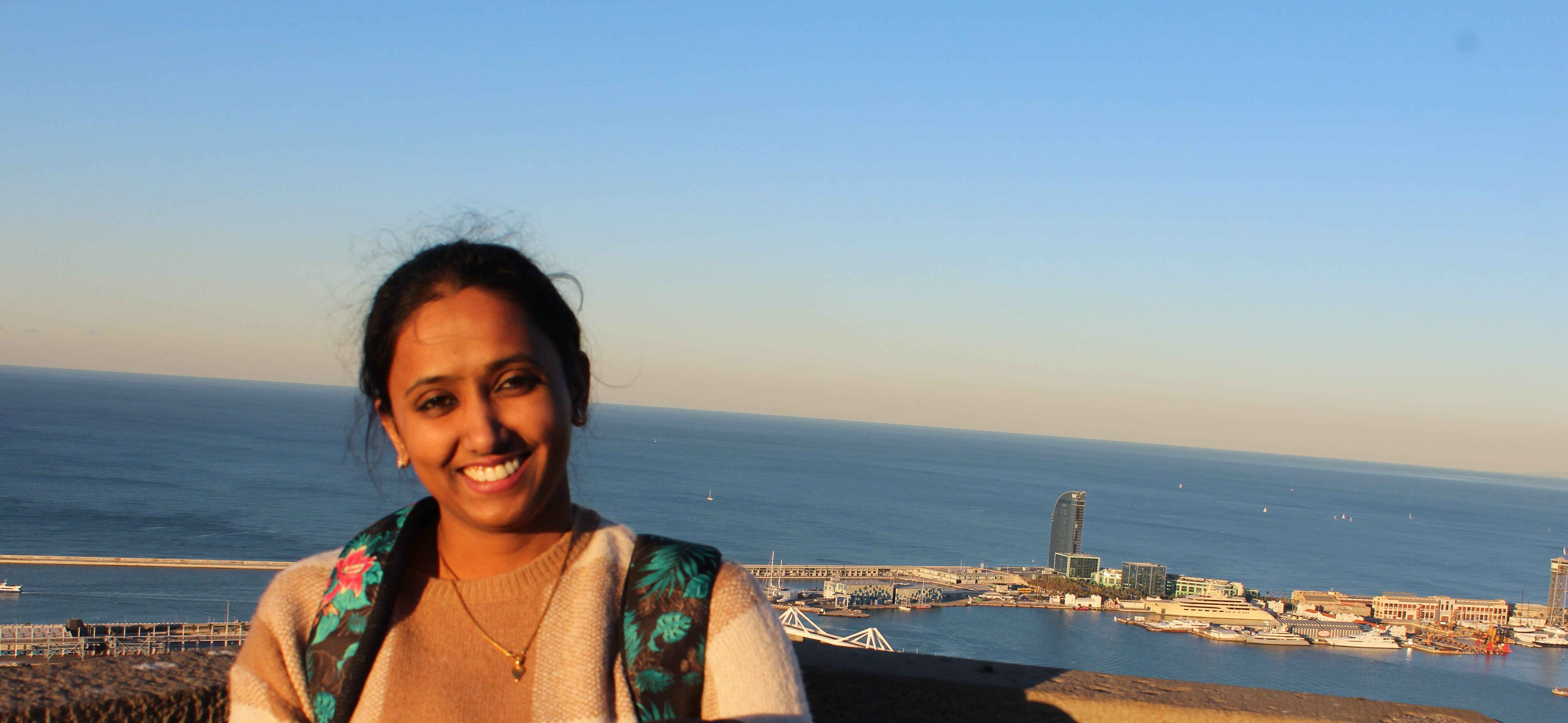 Employee in the spotlight:Sumitha Chakprani (35) Bangalore, India, Client Support Employee, Full time.