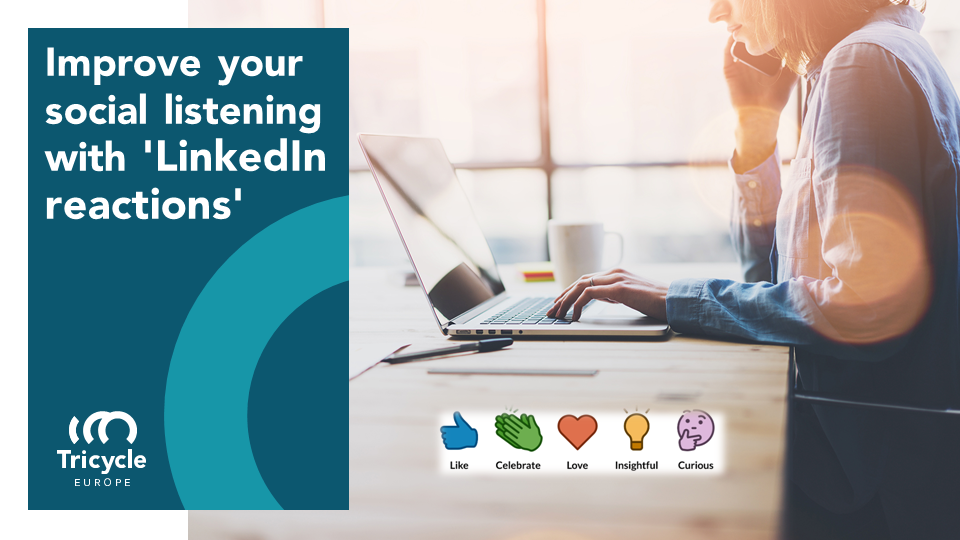 Improve your social listening with LinkedIn Reactions