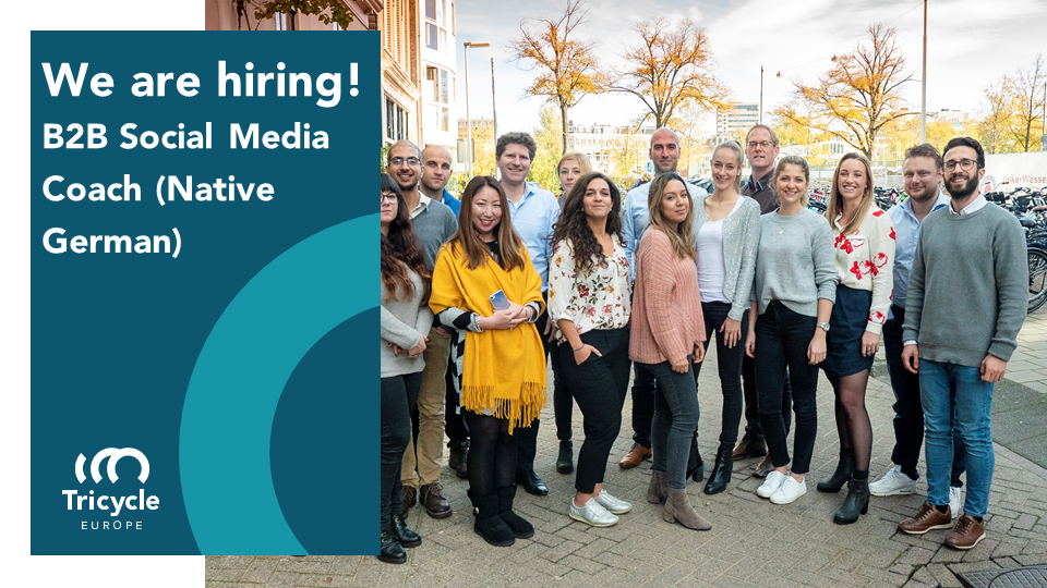 We Are Hiring: B2B SOCIAL MEDIA COACH (Native German)