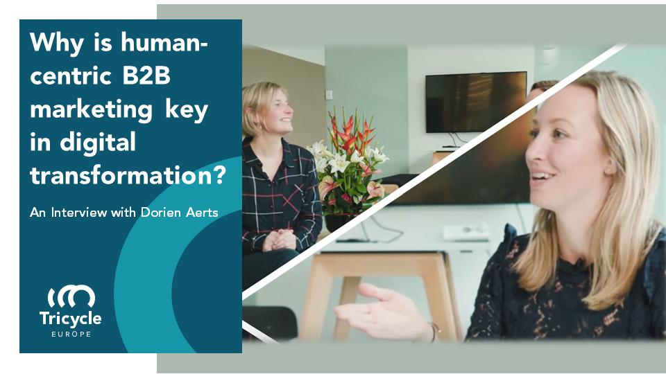 Why is human-centric B2B marketing key in digital transformation?