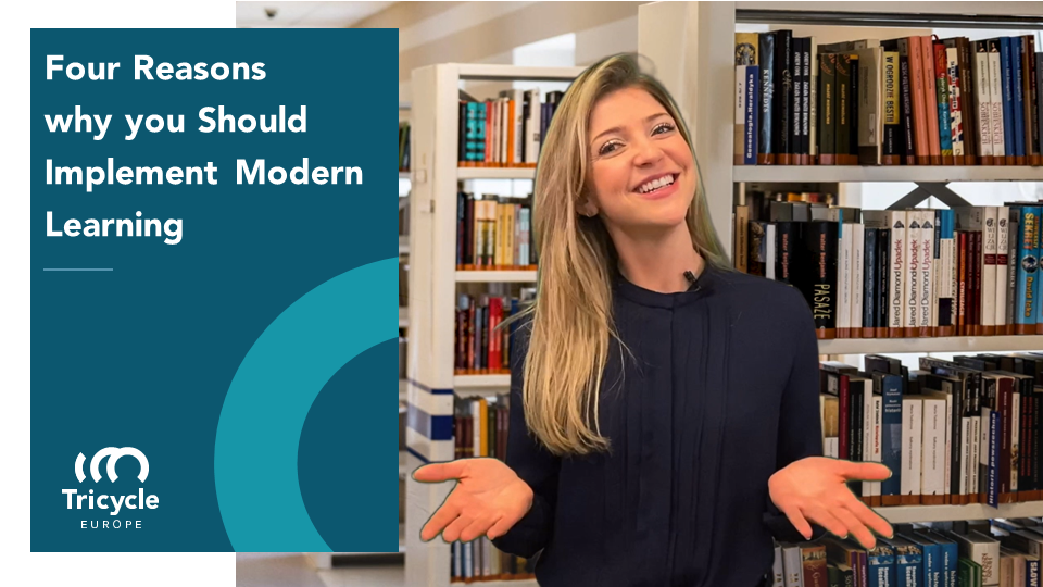 Four Reasons Why You Should Implement Modern Learning