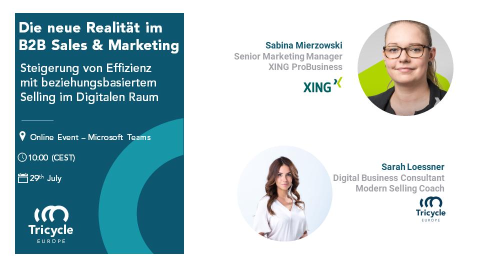 Die Neue Realität Im B2B Sales & Marketing: Steigerung Von Effizienz Mit Beziehungsbasiertem Selling Im Digitalen Raum