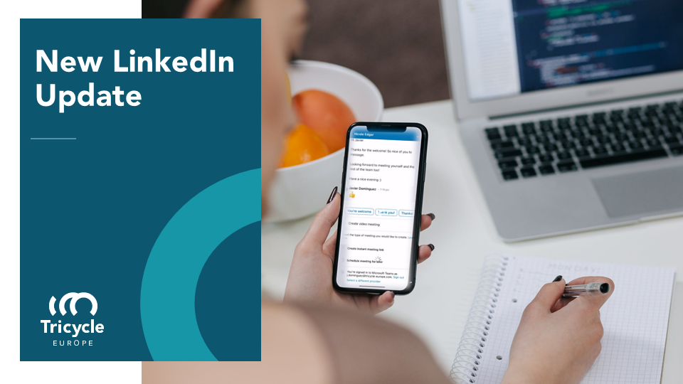 New LinkedIn Feature: Integration of MS Teams, Zoom or BlueJeans into Messaging
