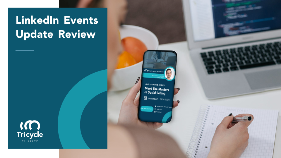 LinkedIn Events Feature – Tricycle Review