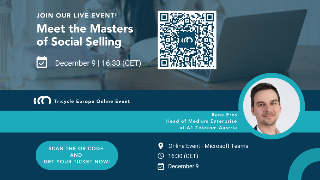Meet the Masters of Social Selling by Tricycle Europe