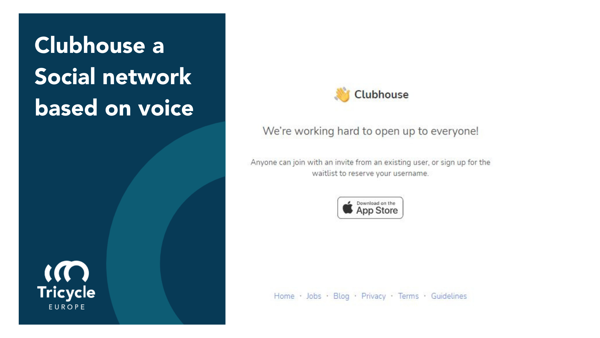 Clubhouse a Social network based on voice