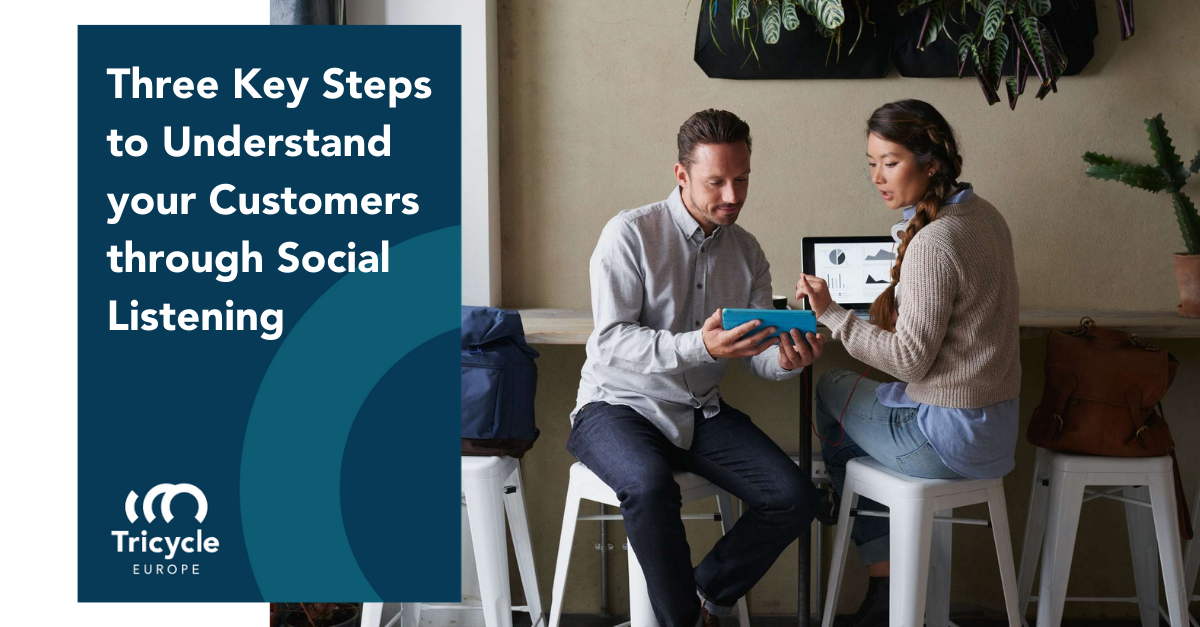 Three Key Steps to Understand your Customers through Social Listening