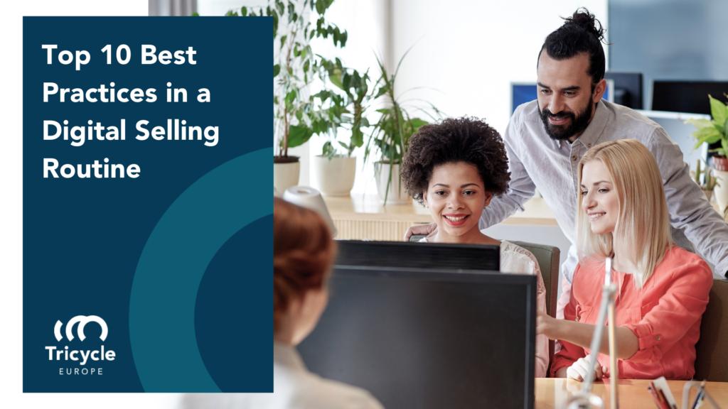 digital selling routine