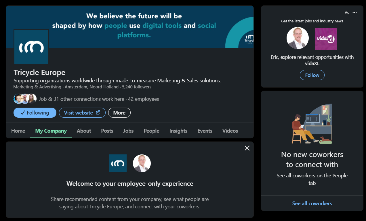 LinkedIn is rolling out their dark mode feature Globally, here is how to turn it on